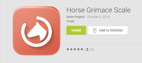 Horse Grimace Scale Application