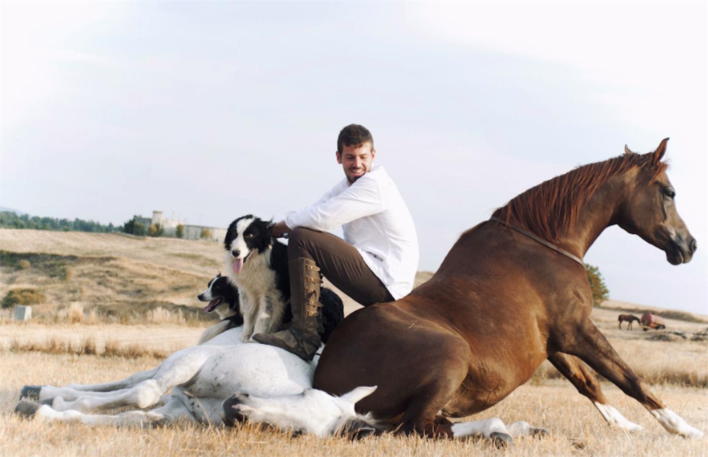 Santi Serra Camps e Il Nuovo Modo Di Addestrare I Cavalli