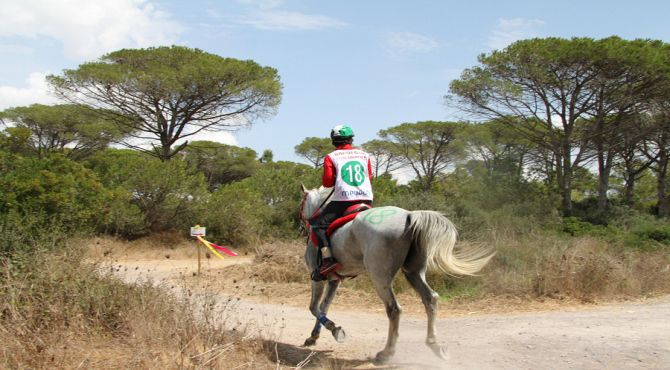 Atleta Cieco Percorre 29 Chilometri In Una Gara a cavallo