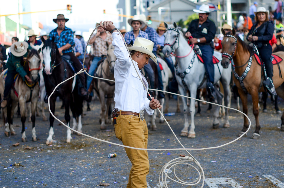 Costa Rica's National Horse Parade: partecipano più di 3.000 cavalli
