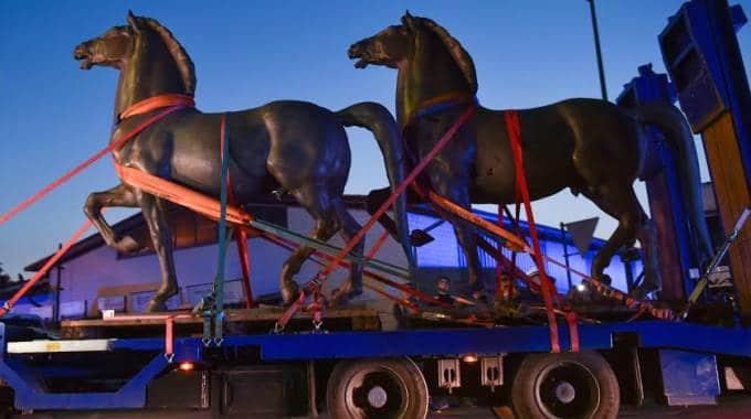 Sono stati ritrovati i cavalli di Hitler