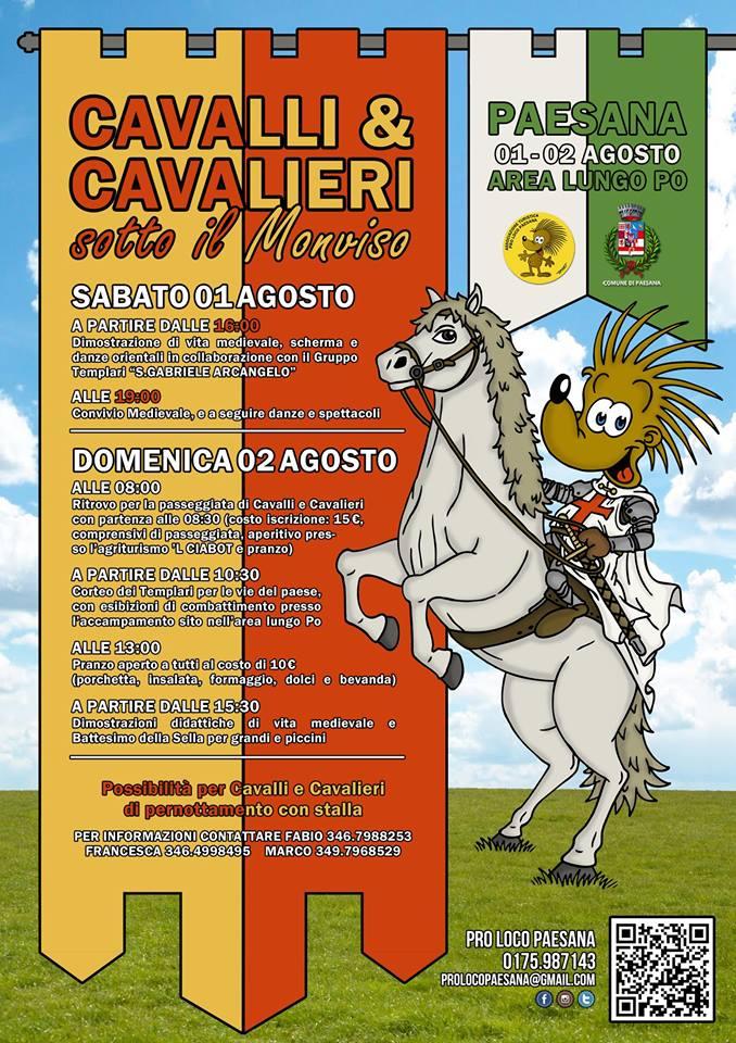 Cavalli e Cavalieri sotto il Monviso